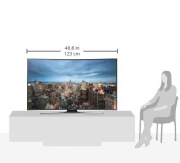 samsung ue55ju6550 138 cm 55 zoll curved fernseher. Black Bedroom Furniture Sets. Home Design Ideas