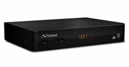 STRONG SRT 8210 ECO Digitaler terrestrischer HD Satelliten-Receiver mit HEVC Technology (DVB-T2, HDMI, USB, Ethernet, SCART, ANT IN, 3,5 mm Klinke, Fernbedienung) schwarz - 2