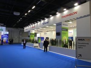 Strong/Thomson auf der AngaCom
